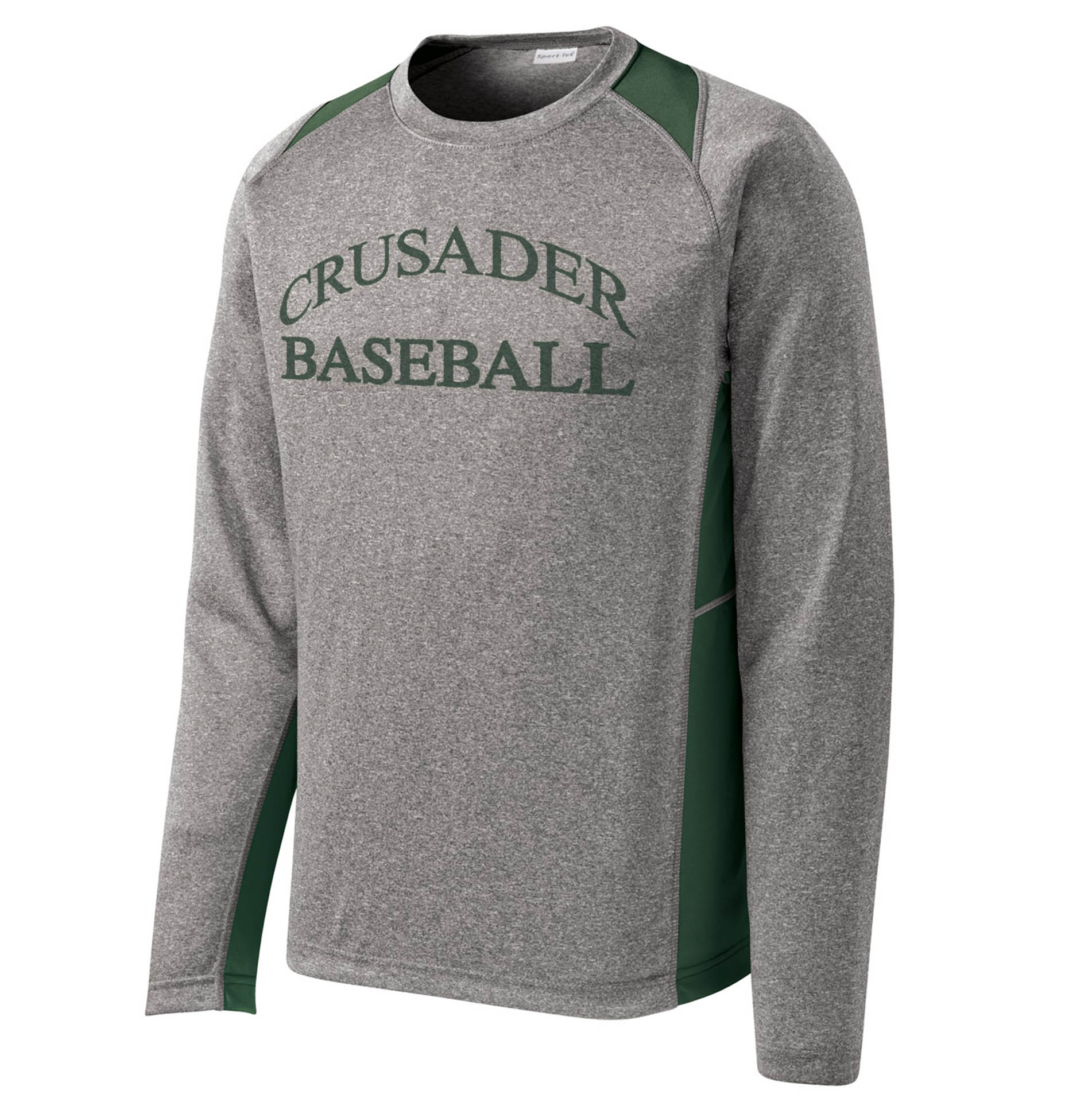 Nwc baseball long sleeve performance t shirt branded for Long sleeve sports shirt